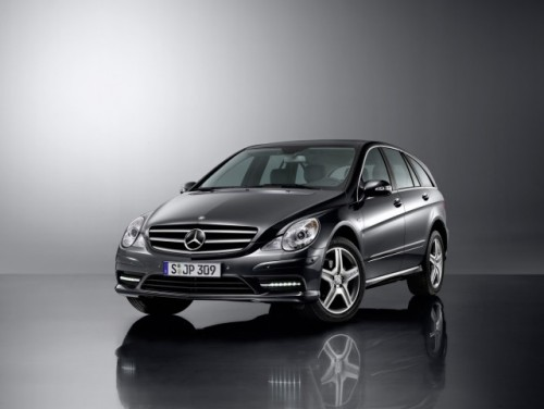 Noul Mercedes R-Class primeste un pachet sport AMG10649
