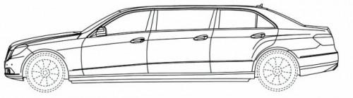 Schite cu o limuzina bazata pe E-Class10495