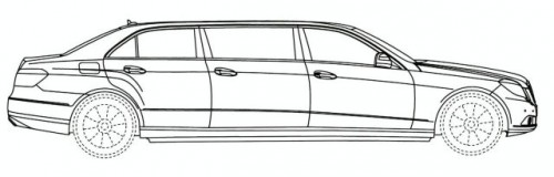 Schite cu o limuzina bazata pe E-Class10498