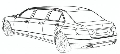 Schite cu o limuzina bazata pe E-Class10499