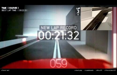 Volkswagen a lansat un joc video online10407