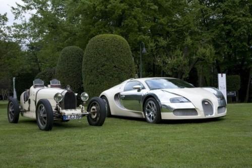 Bugatti dezveleste Veyron Centenaire Edition in Italia10094