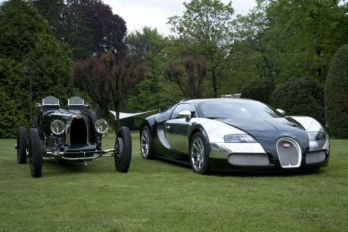 Bugatti dezveleste Veyron Centenaire Edition in Italia10095