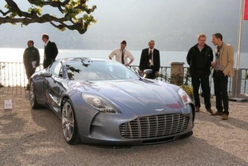 Aston Martin One-77 a castigat premiul de design in Italia10068