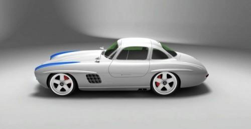 Renasterea unui simbol: Replica modelului 300 SL Panamericana9939