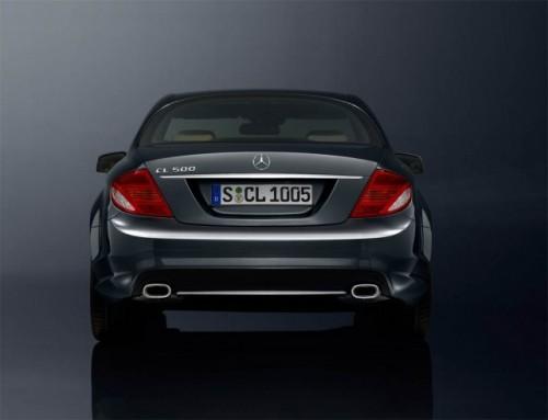 Mercedes isi sarbatoreste aniversare cu numarul 100 cu un CL500 special9893