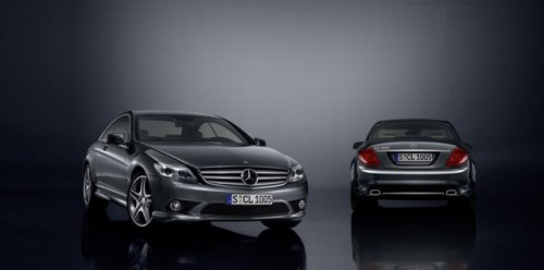 Mercedes isi sarbatoreste aniversare cu numarul 100 cu un CL500 special9895