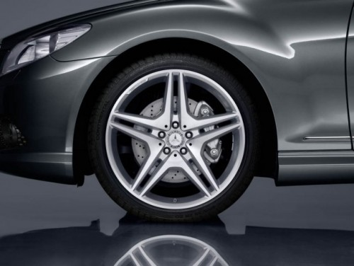 Mercedes isi sarbatoreste aniversare cu numarul 100 cu un CL500 special9899