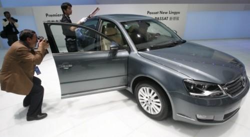 VW deschide noi drumuri cu Passat Lingyu9809