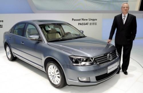 VW deschide noi drumuri cu Passat Lingyu9810