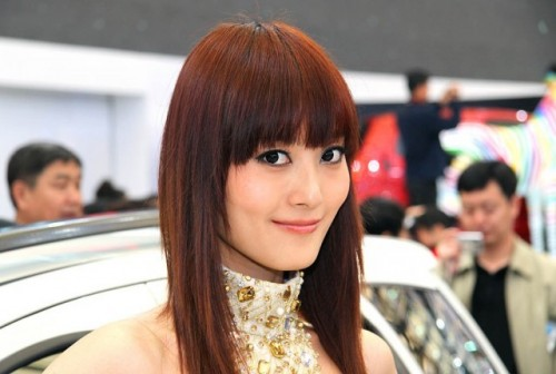 Fetele de la Salonul Auto de la Shanghai9759