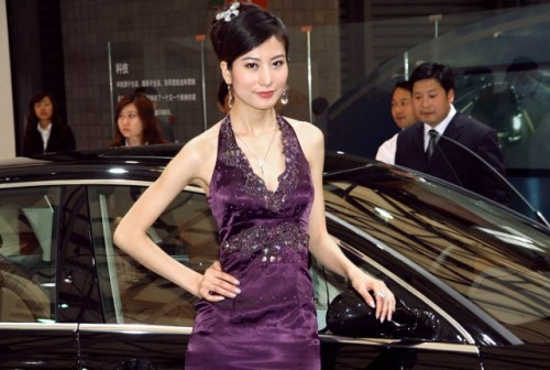 Fetele de la Salonul Auto de la Shanghai9760
