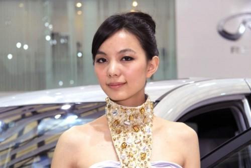 Fetele de la Salonul Auto de la Shanghai9768