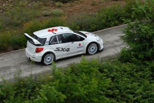 Suzuki SX4 S2000 - revenirea in WRC9729