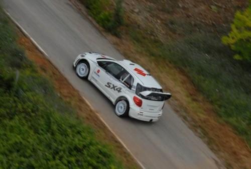 Suzuki SX4 S2000 - revenirea in WRC9731