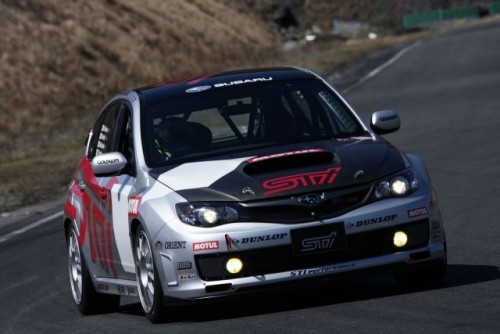 Subaru Impreza STI va concura in cursa de 24 de ore de la Nurburgring9615