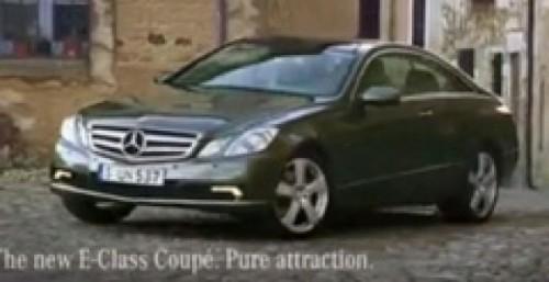 Noua reclama la Mercedes E-Class Coupe9609