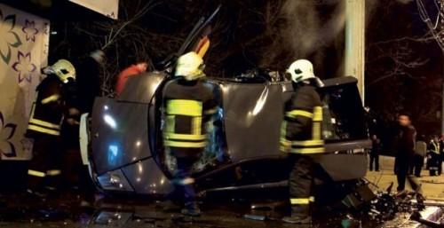 Al treilea Lamborghini distrus in ultima luna9599