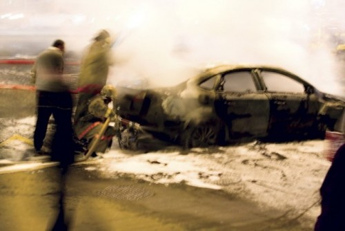 Al treilea Lamborghini distrus in ultima luna9602