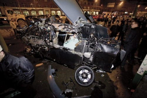 Al treilea Lamborghini distrus in ultima luna9605