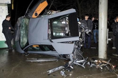 Al treilea Lamborghini distrus in ultima luna9608