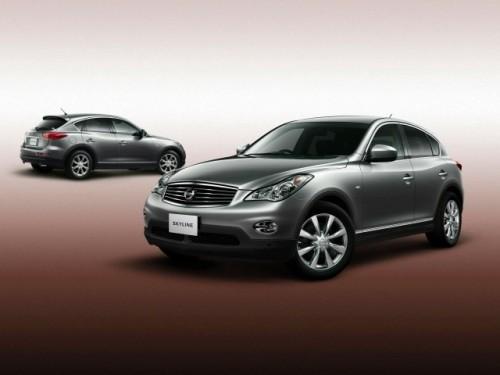 Nissan Skyline Crossover va fi lansat in Japonia in aceasta vara9577