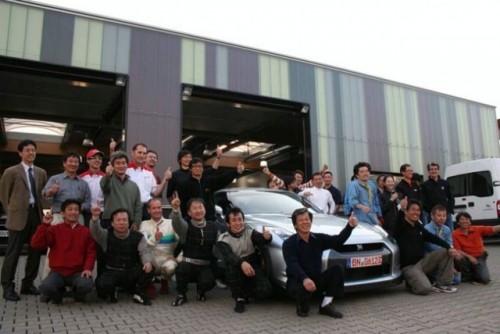 Nissan GT-R isi bate propriul record de la Nurburgring9552