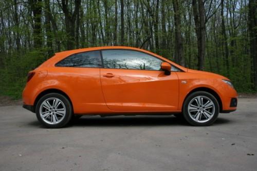 Portocala mecanica: Test-drive cu Seat Ibiza SC9497