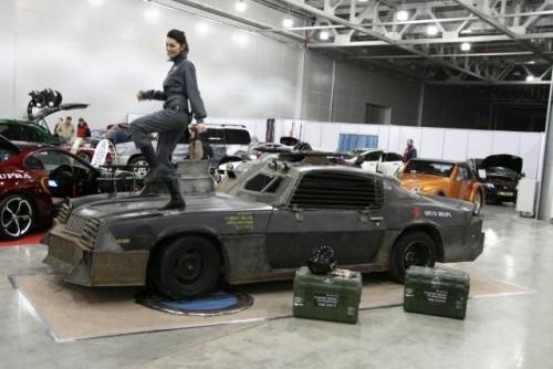 Chevrolet Camaro inspirat din Death Race prezentat la Moscova9381