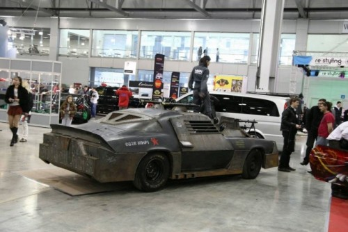 Chevrolet Camaro inspirat din Death Race prezentat la Moscova9383