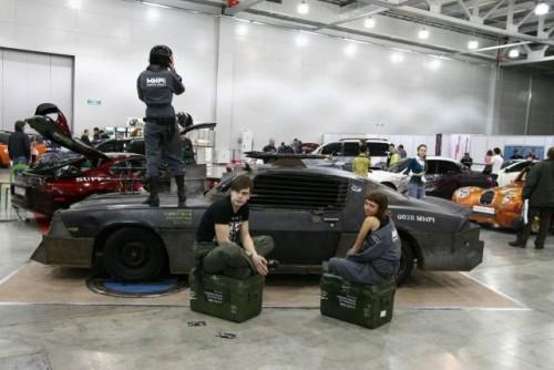 Chevrolet Camaro inspirat din Death Race prezentat la Moscova9385