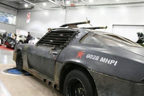 Chevrolet Camaro inspirat din Death Race prezentat la Moscova9386