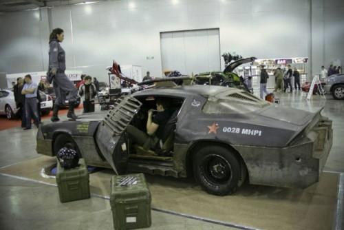 Chevrolet Camaro inspirat din Death Race prezentat la Moscova9388
