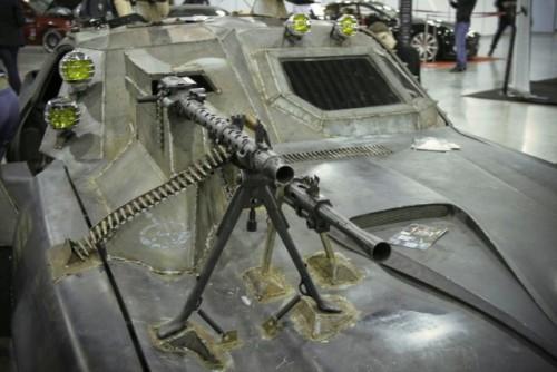 Chevrolet Camaro inspirat din Death Race prezentat la Moscova9389