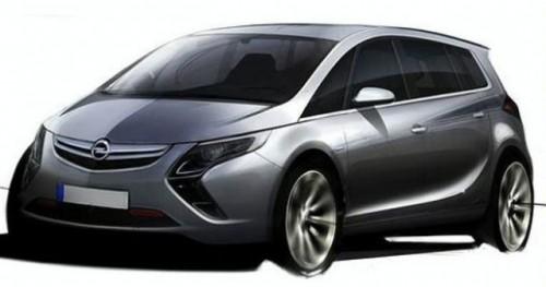 Prima schita cu noul Opel Zafira9345