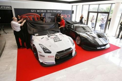 FIA GT1 Nissan GT-R dezvelit9306