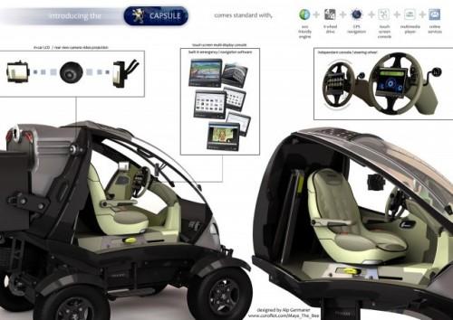 Peugeot Capsule Concept realizat de Alp Germaner9279