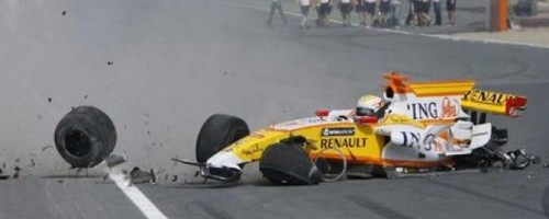 VIDEO: Renault F1, facut praf dupa 100 m de un pilot arab9211