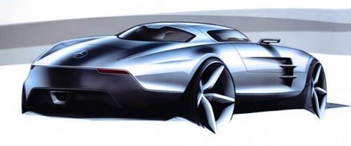 Schite si imagini de interior cu Mercedes SLS 63 AMG9095