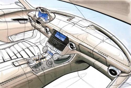 Schite si imagini de interior cu Mercedes SLS 63 AMG9096