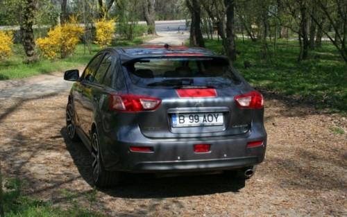 Drive-test cu Mitsubishi Lancer Sportback8869