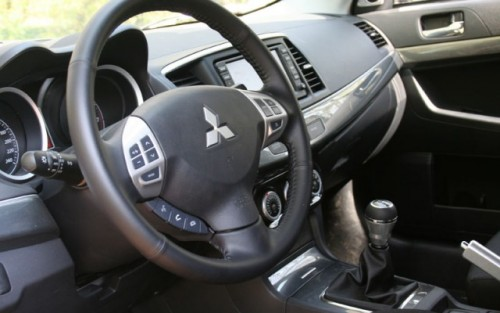 Drive-test cu Mitsubishi Lancer Sportback8872