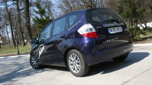 Drive-test cu Honda Jazz8814