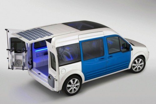 Conceptul Ford Transit Conect Family One va debuta la New York8699