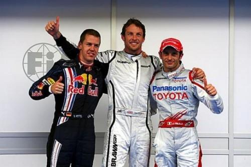 Button reuseste un nou pole-position pentru Brawn GP8675