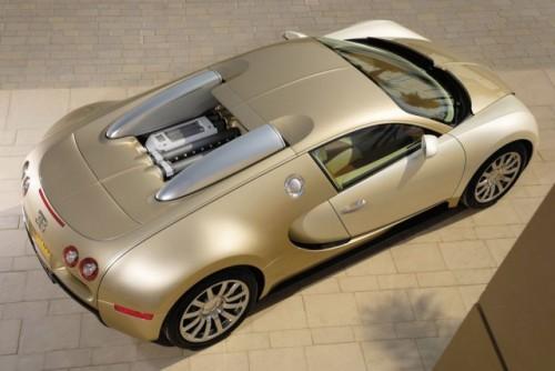 Imagini cu un Bugatti Veyron  auriu8605
