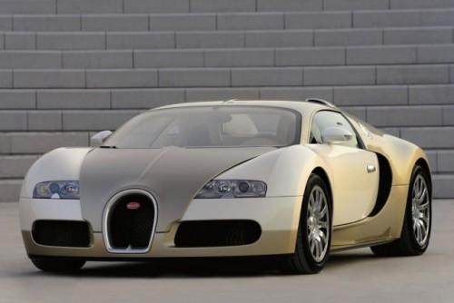 Imagini cu un Bugatti Veyron  auriu8607