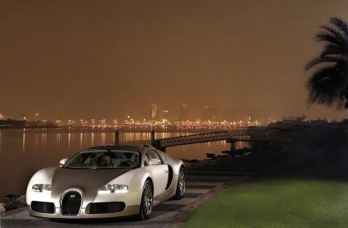 Imagini cu un Bugatti Veyron  auriu8610