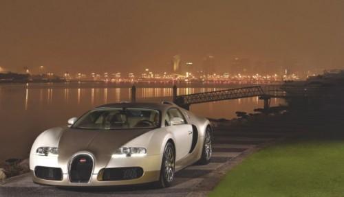 Imagini cu un Bugatti Veyron  auriu8611