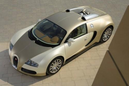 Imagini cu un Bugatti Veyron  auriu8613